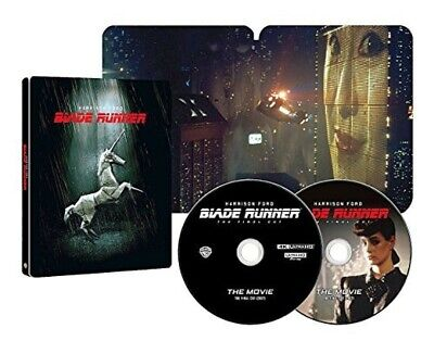 Blade Runner Final Cut Limited Edition 4K ULTRA HD & Blu-ray Steelbook New