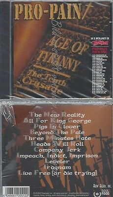 Cd--The Tenth Crusade/ Pro-Pain--Age Of Tyranny