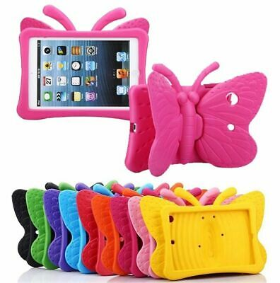 For iPad 9.7 6th Gen 2018 2017 EVA Foam Stand Kids Heavy Duty Handle Foam Case