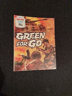 Battle  Picture  Library    No  1304   Green For  Go