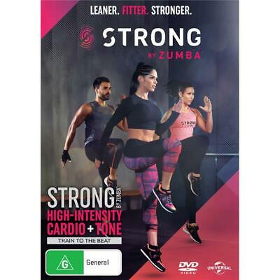 Strong by Zumba DVD R4 New Sealed