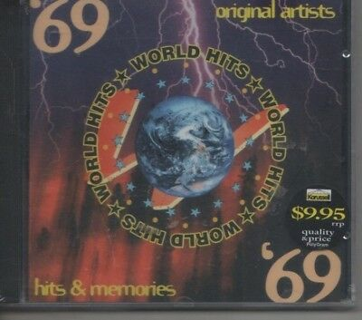 WORLD HITS 1969- VARIOUS ARTISTS CD david essex, status quo, joe dolan,