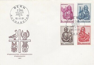 Switzerland 1961 First Day cover, very fine.