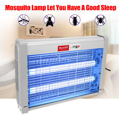 20W Electric UV Insect Killer Mosquito Fly Pest Bug Zapper Catcher Trap LED
