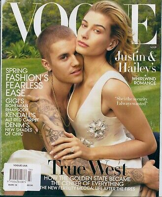 Vogue Usa -Justin & Hailey Bieber