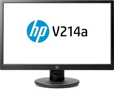 Hp V214a 20.7 Pulgadas Monitor Led - Full HD de 1080p,5 Ms Respuesta,Altavoces,