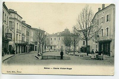 47 NERAC  Cours Victor Hugo Commerce TABAC anim 1910 E09 2017