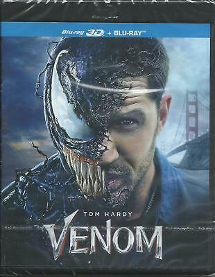 Venom 3D (2018) 2 Blue Ray