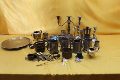 Assortment Of Mixed Metal Items  ##new243Bw