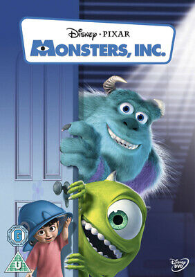 Monsters, Inc. DVD (2002) Pete Docter cert U ***NEW*** FREE Shipping, Save £s