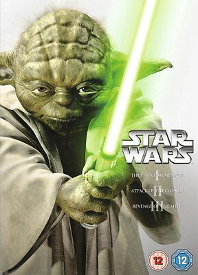 Star Wars Trilogy: Episodes I, II and III DVD (2013) Liam Neeson ***NEW***