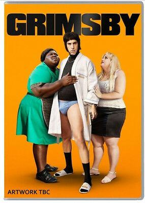 Grimsby DVD (2016) Mark Strong ***NEW***