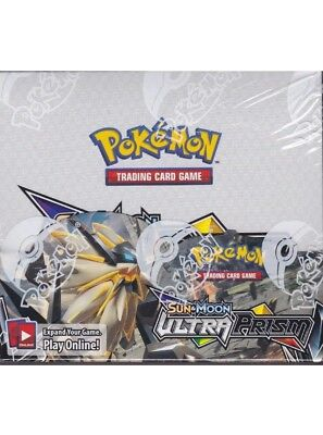 Pokemon Sun and Moon Ultra Prism sealed unopened booster box pack Of 10 cards