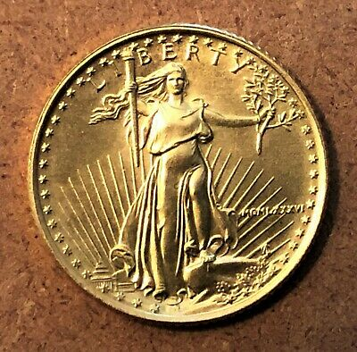 1986 $5 GOLD AMERICAN EAGLE 1/10 OZ GOLD COIN MCMLXXXI ~ Estate Sale Find