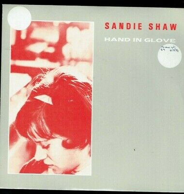 Sandie Shaw The Smiths Hand In Glove Ps 45 Rough Trade 1984 Rt 130