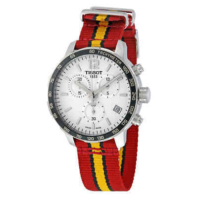 Tissot Quickster Miami Heat NBA Special Edition Silver Dial Men's Watch
