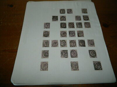 GB QUEEN VICTORIA 1d LILACS COLLECTION OF APPROX 200 STAMPS