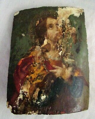 Original 1840s Oil painting Carlo Dolci St. Magdalene The Holy Grail RESTORATION