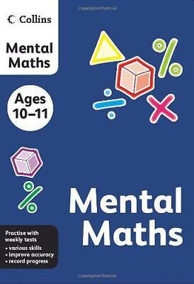 Collins Practice - Collins Mental Maths: Ages 10-11 by , NEW Book, FREE & Fast D