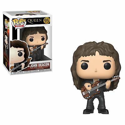 Queen Band John Deacon with Guitar Music POP! Vinyl Figure #95 FUNKO NEW MIB