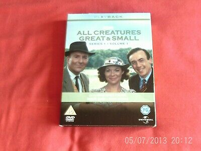All Creatures Great And Small - Series 1 Vol.1 (DVD, 2003, 3-Disc Set)