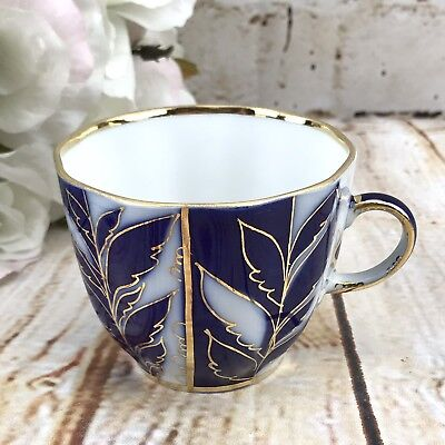 Lomonosov COFFEE CUP ONLY Porcelain Winter Eve Evening Spare Replacement USSR