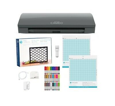 Silhouette CAMEO 3 - Slate Grey with bonus Craft Bundle