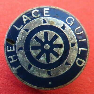 The  Lace  Guild  <>  Old / Used  <>  Lapel  Badge