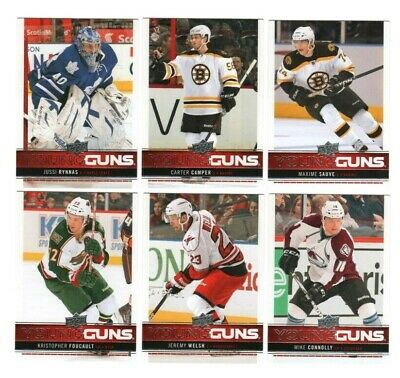 Jussi Rynnas RC ++ 2012-13 Upper Deck UD Young Guns YG Rookie Lot Maple Leafs