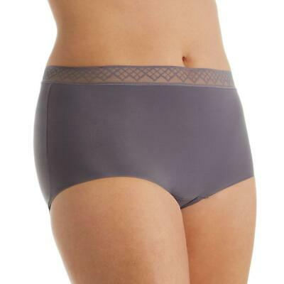 16826c95ed5e 2 pair Vassarette Invisibly Smooth Brief 13383 Steele and RoseyCheeks Size  10