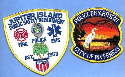 2 Florida- City Of Inverness  -Awesome Patch & Jupiter Beach Public Safety