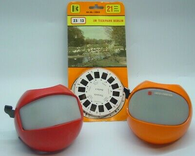 2 Space viewers   STEREOBOX (DDR GDR)   &    VIEW-MASTER