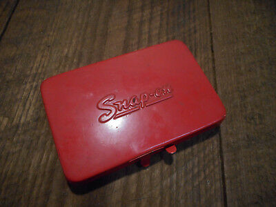 L3203- Vintage Small Snap-On KRA-255  tool box Dated 74