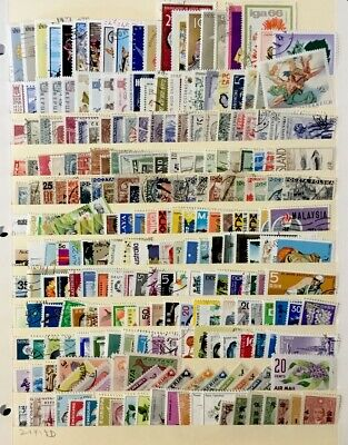 Worldwide Stamps  #240 All Different Before 1980 Lot 21419D