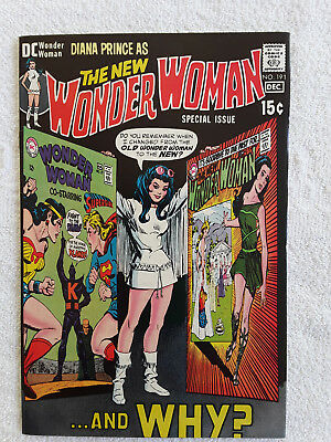 Wonder Woman #191 (Nov-Dec 1970, DC) VF