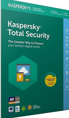 Kaspersky Total Security 2019 1 PC 1Year Download Full Version Send via Email