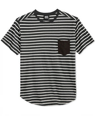 SHAUN WITH WHT SPACE $28 NEW 3019 Soho Stripe Tee Mens T-Shirt Top L
