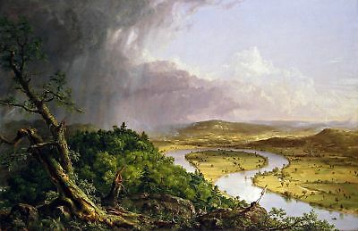 The Oxbow (CT River) Thomas Cole. Fine Art Repro Made in U.S.A Giclee Prints