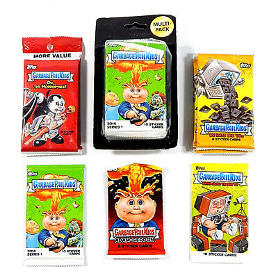 Lot of (19) 2000's Topps Garbage Pail Kids Prime Slime Adam-Geddon '80s ++