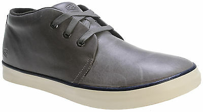 KEEN Leather SANTA CRUZ Chukka SHOES Boots GARGOYLE Grey SNEAKERS Boys MENS sz 7