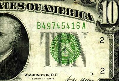 $10 1928B Federal Reserve Note ** MORE CURRENCY FOR SALE