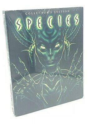 Species (Blu-ray Disc, 2017; 2-Disc Scream Factory Collector's Ed.) w/ Slipcover