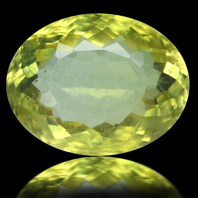 8.87 Ct Ct Ultra Rarest! Top-Luster 100%natural Canary Yellow Apatite Brazil.