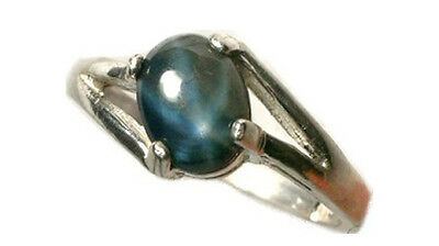 19thC Antique 1½ct Sapphire Gem of Medieval Oracle Sorcery Prophecy Black Magic