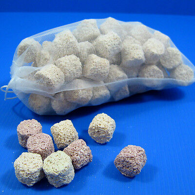 0.6L Porous Ceramic African Cichlids Filter Media 300g for Aquarium Fish Tank