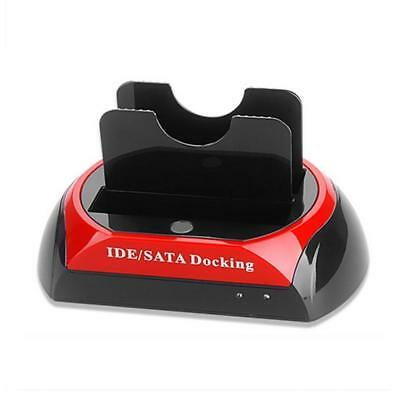 Dual 2.5″/3.5″ IDE SATA HDD Docking Station Hard Drive Disk All In1 Clone AE