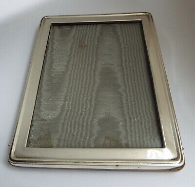 Lovely Genuine English Antique 1926 Sterling Silver Photo Frame Walker & Hall