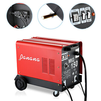 150 Gas & No Gas Auto Flux Solid Wire Feed Mig Weld Welder Welding Machine