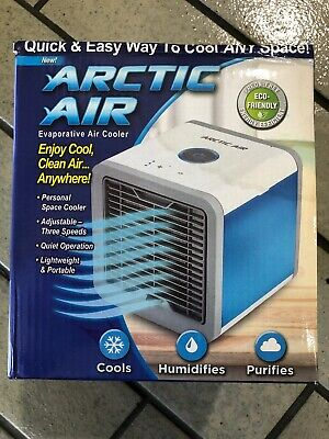 Arctic Air Personal Air Cooler Humidifier Portable Fan Home Office Bedroom Summe