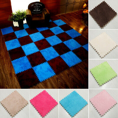 1PCS Soft Foam EVA Floor Mat Jigsaw Tiles Interlocking Play Kids Baby Puzzle Mat